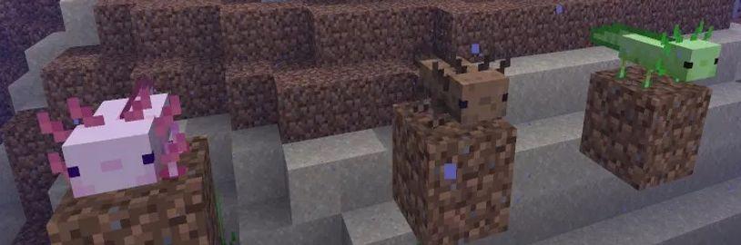 Očekávaná velká aktualizace Minecraftu je rozdělena na dvě části