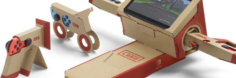 Nintendo Labo posloužilo k výrobě volantu pro vozíčkáře