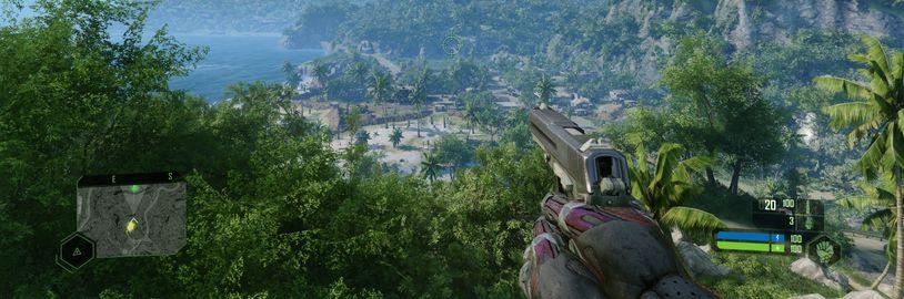 """PC verze Crysis Remastered nabídne grafické nastavení """"Can It Run Crysis?"""""""