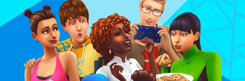 Změna vzhledu The Sims 4