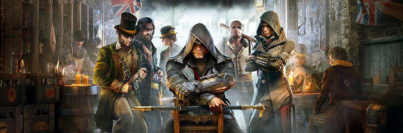 Brzy bude zdarma Assassin's Creed Syndicate, tvůrce Gran Turisma o PS5, XCOM 2 pro Switch, Splinter Cell na VR