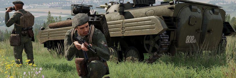 Screenshoty znovu připomínají rozšíření ČSLA pro Armu 3