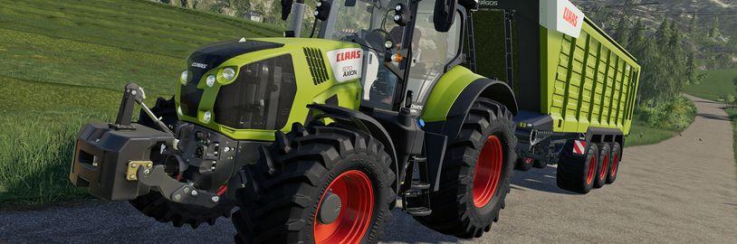 Nový Farming Simulator letos nevyjde, místo něj tři DLC pro Farming Simulator 19