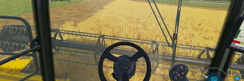 První gameplay záběry z hraní Farming Simulatoru 22 a spousta detailů