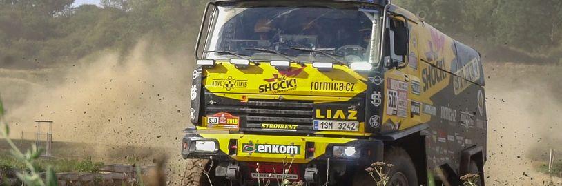 Vyzkoušeli jsme si vlastní malé závody Rallye Dakar