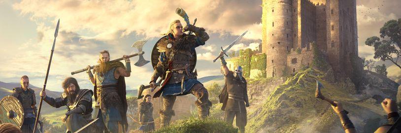 Další detaily o Assassin's Creed Valhalla: Vymizí side questy, opět budeme moci navazovat vztahy
