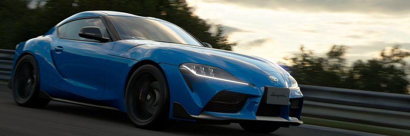 Dubnová aktualizace přidává do Gran Turismo Sport vůz Toyota GR Supra RZ