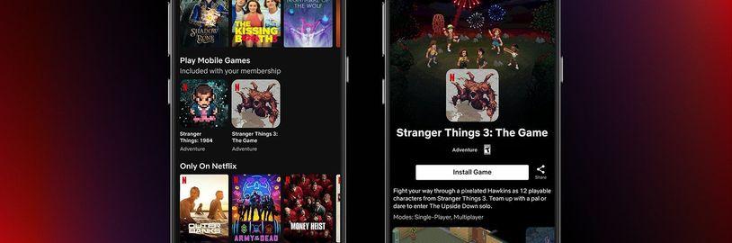 Streamovací gigant spustil Netflix Gaming, ale zatím jen pro jednu zemi