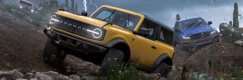 Forza Horizon 5 s lepší simulací i přístupnější hratelností