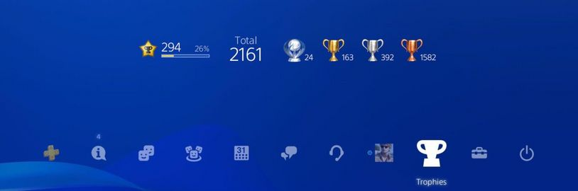 Sony mění systém trofejí. Na PS5 uvidíte postup v získávání trofeje
