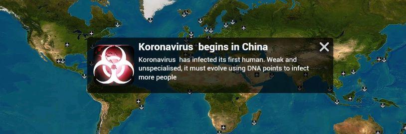 Hra Plague Inc. byla odstraněna z čínského App Storu. Může za to koronavirus?