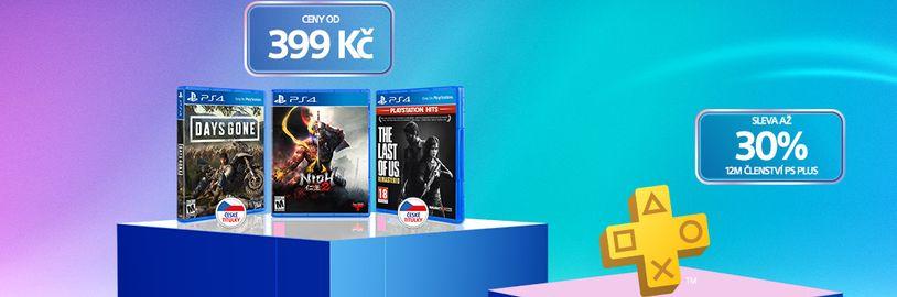 Tradiční velké slevy PlayStationu se blíží. Ušetříte za hry i PS Plus