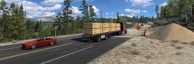 Madrid a Wyoming z českých kamionových simulátorů