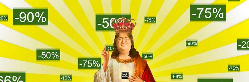 Na Steamu vypukl letní výprodej na nové i starší hry