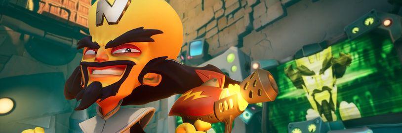 Crash Bandicoot 4: It's About Time se nám ukazuje v několika gameplay záběrech