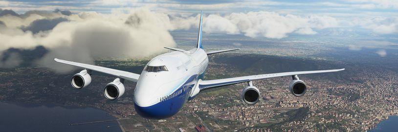 Pátá aktualizace Microsoft Flight Simulatoru má výrazně zlepšit herní zážitek