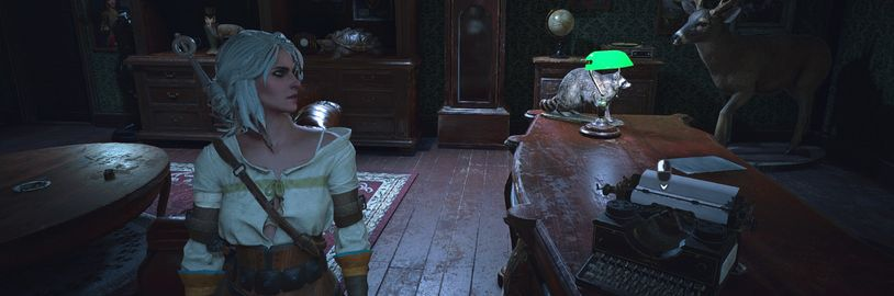Zahrajte si Resident Evil 2 Remake za Ciri ze Zaklínače