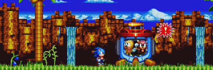 Sonic by mohl příští rok oslavit s novými hrami