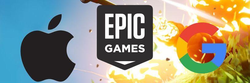 Epic Games vs. Apple a Google: Tvůrci Fortnite podnikají další právní kroky