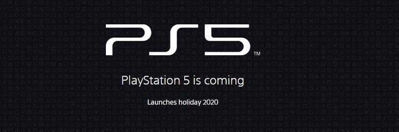Sony spustila oficiální stránky PS5. Brzy nás čekají důležité informace. Mezitím se mluví o ceně a výkonu konzole