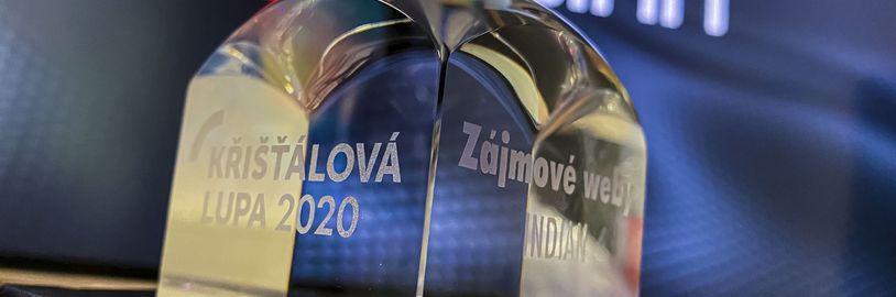 Indian je podruhé nominován na Cenu českého Internetu: Křišťálová Lupa 2021