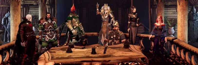 Vývoj Divinity: Fallen Heroes zmražen, přednost má Baldur's Gate 3