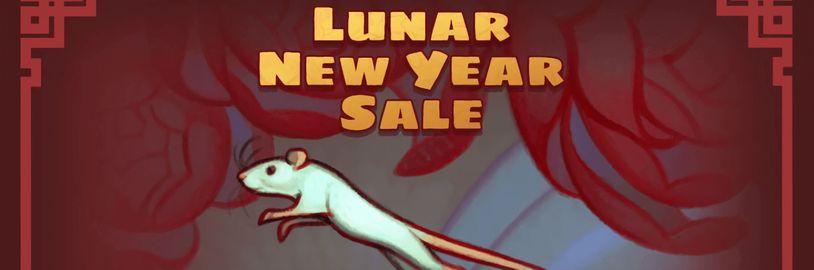 Oslavme lunární Nový rok s výprodejem na Steamu