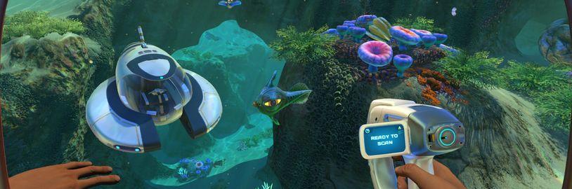 Subnautica se ještě letos dočká portu pro PS4