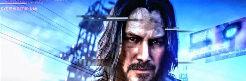 Keanu Reeves a V z Cyberpunku 2077 jako akční figurky