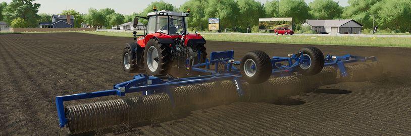 Nové možnosti pro práci s půdou ve Farming Simulator 22