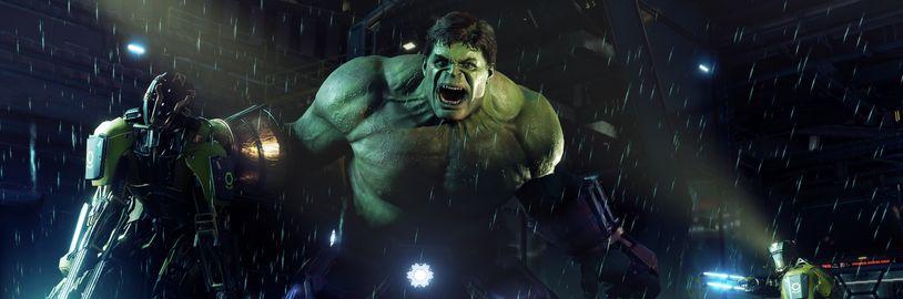 Za měsíc si můžete vyzkoušet akční adventuru Marvel's Avengers v betě