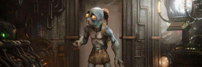 Oddworld: Soulstorm dodatečně obohacen o české titulky a může vyjít na Xbox