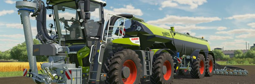Oznámeno bezplatné DLC pro Farming Simulator 22