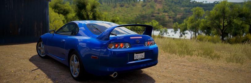 Toyota se vrací do série Forza a NFS reaguje smutnou Lízou