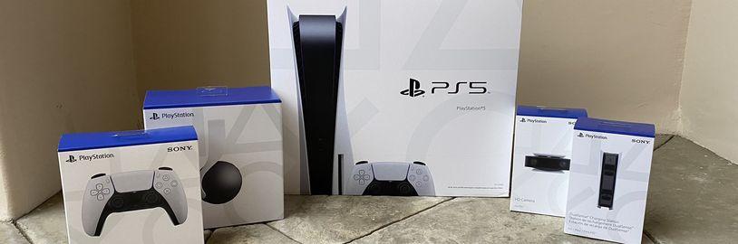 Rozbalení PlayStationu 5, první dojmy a gameplay z Astro's Playroom