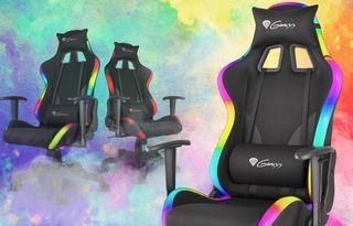 Zasoutěžte si o herní židli Genesis Trit