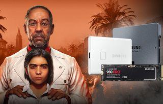Vyhrajte Far Cry 6 s disky od Samsungu
